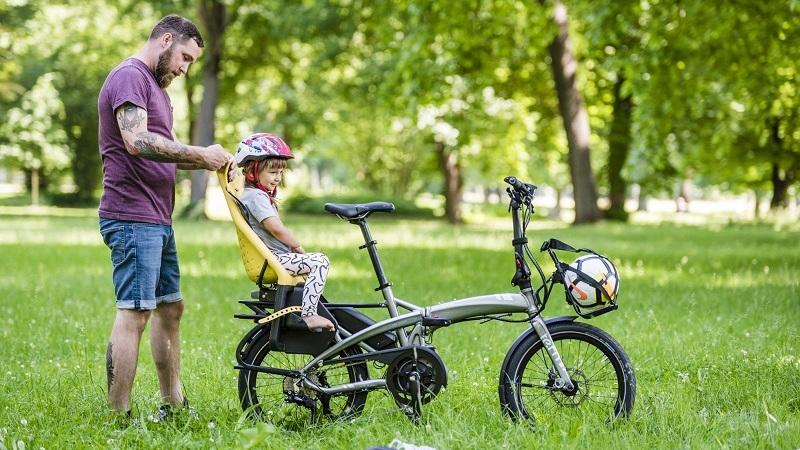 Bicicletas dobráveis prontas a consumir