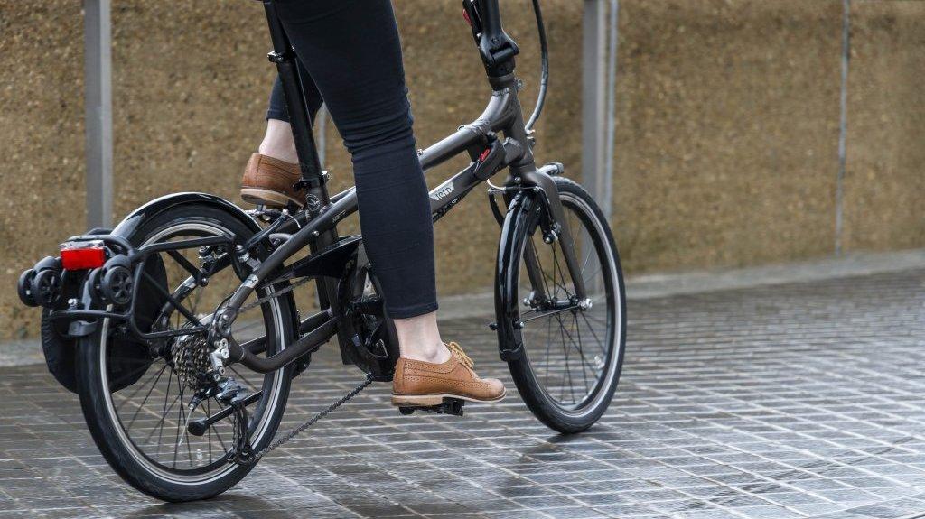 Tern BYB a mini bicicleta dobrável de roda 20